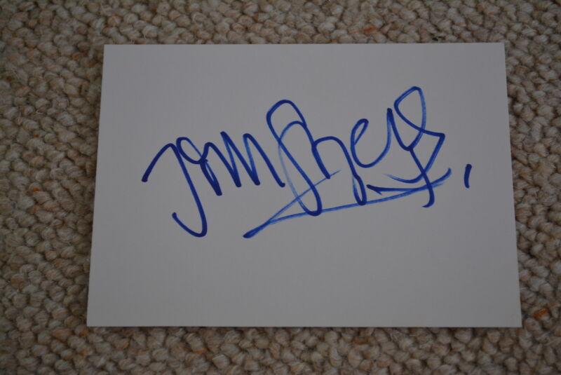JIM STURGESS  signed  Autogramm In Person 10x15 cm weisse Karte CLOUD ATLAS