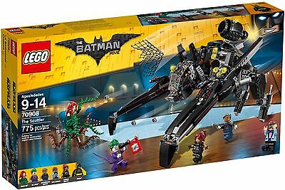 NEW LEGO BATMAN MOVIE SET 70908 THE SCUTTLER BATMOBILE POISON IVY JOKER ROBIN