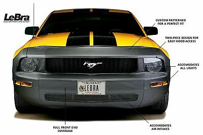 - Covercraft LeBra Custom Front End Cover Mask Bra For Ford 2005-2009 Mustang