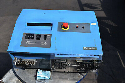 Eubanks Autostrip 7400 Electric Programmable Wire Stripper 8awg-516 New Blades