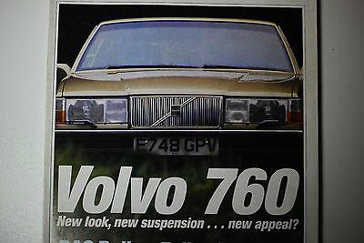 VOLVO 760, Testbericht, Maserati Bora, Zender Vision3, Motor 11/1987