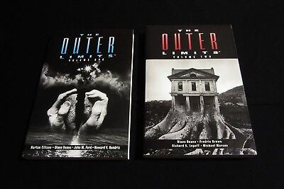 Outer Limits Novels-Volumes 1 & 2-Prima Publishing-1st Printings-NM/MINT