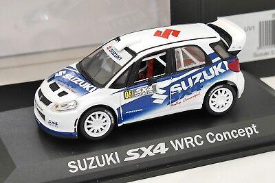 NOREV 1/43 SUZUKI SX4 WRC CONCEPT RALLYE 800506 AVEC SA BOITE