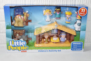 Little People Children's Nativity Set Fisher Price 11 Figures