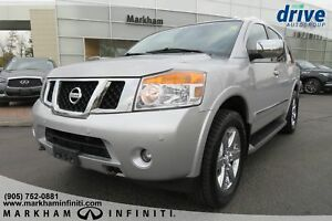 2012 Nissan Armada Platinum Edition Leather, Sunroof, DVD, Ca...