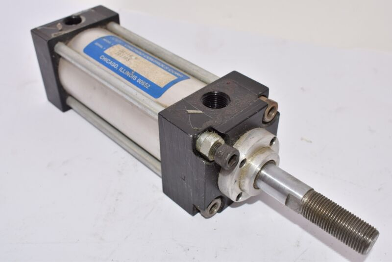 Chicago Controls DA-1655 Pneumatic Air Cylinder Bolts Switched