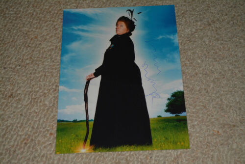 EMMA THOMPSON signed Autogramm 15x20 cm In Person EINE ZAUBERHAFTE NANNY