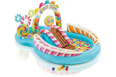 Intex Childs Kids Inflatable Candy Zone Garden Play Centre