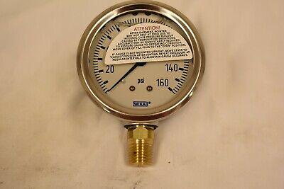 Wika Pressure Gauge Wk2801000 0-160 Psi 9767070-003 Oem