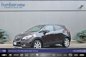 2015 Buick Encore Leather NAVI|SUNROOF|BLIND SPOT|LOW KM