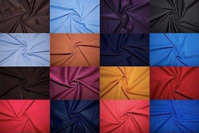 Nylon Lycra Spandex 4 Way Stretch Swimwear Activewear Cosplay Apparel Fabric BTY