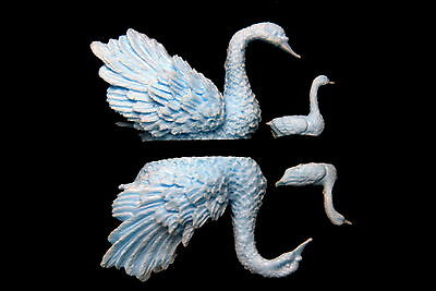 Sugarcraft Silicone Molds Fondant Mould Cake Decorating Tool Swan Family
