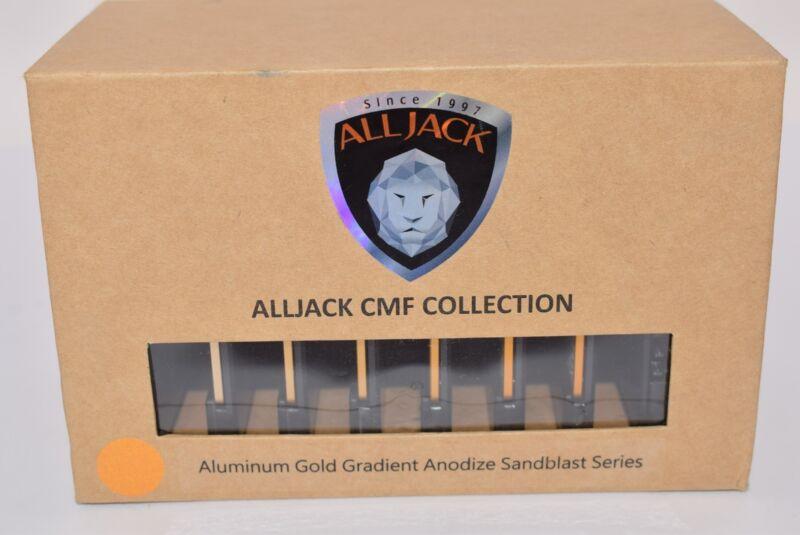 NEW ALLJACK CMF Collection, Aluminum Gold Gradient Anodize Sandblast Series, AL6