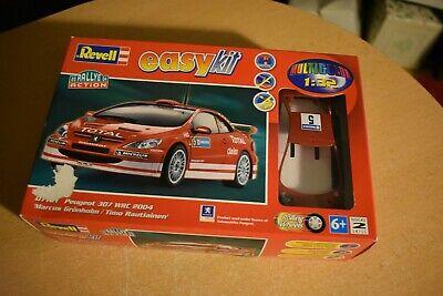 """Revell Model Kit 07121 Peugeot 307 WRC 2004 """"Easy"""" Kit NEW IN BOX"""