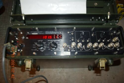 MILITARY AN/USM-326A DIGITAL READOUT ELECTRONIC COUNTER BALLANTINE LABORATORIES