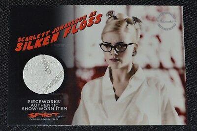 The Spirit Scarlett Johansson Silken Floss Costume Prop Pieceworks Card ](The Spirit Costume)