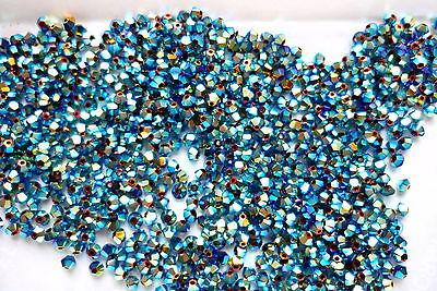 Swarovski 5301 Bicone (30 Swarovski® Kristall Perlen Bicone 3mm Art. 5301 / 5328  FARBWAHL)