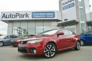 2011 Kia Forte Koup 2.4L SX BRAND NEW TIRES|SUNROOF|LEATHER