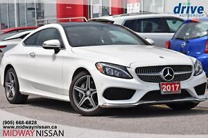 2017 Mercedes-Benz C-Class Navigation|Leather Upholstery|Sunroof