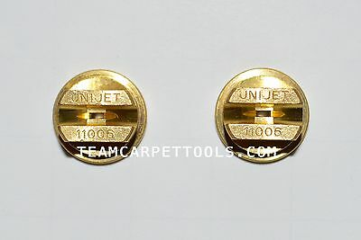 Carpet Cleaning Wand Replacement T-jets Spray Tips Nozzles Brass 11006 2 Count