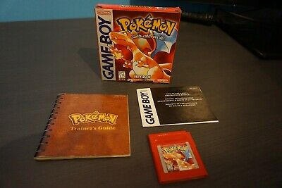 Pokemon Red Version with Box - Nintendo Gamboy