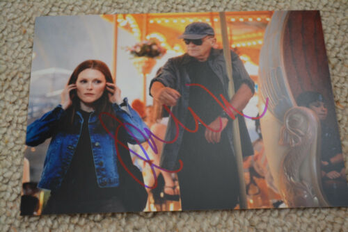 JULIANNE MOORE signed Autogramm 15x20 cm In Person HANNIBAL