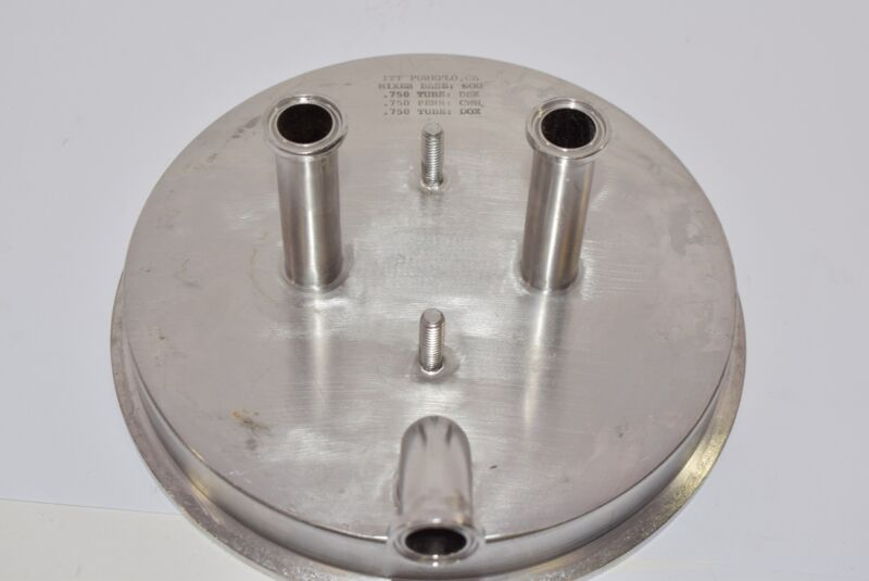 ITT Pureflo Sanitary Stainless Mixer Base .750 Tube 8-1/2