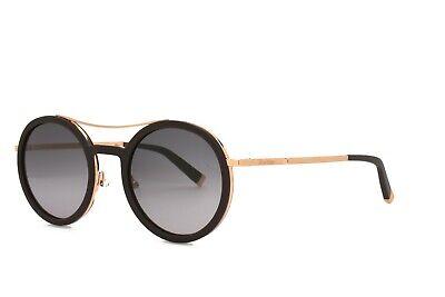 MAX MARA Sunglasses OBLO V24 Burgundy Gold Gray Gradient Lens Brand New Burgundy Gradient Lens