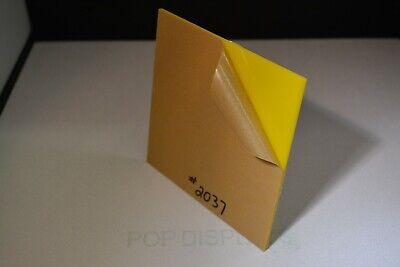 Yellow Plexiglass Acrylic Sheet Color 2037 Yellow 18 X 7 X 11