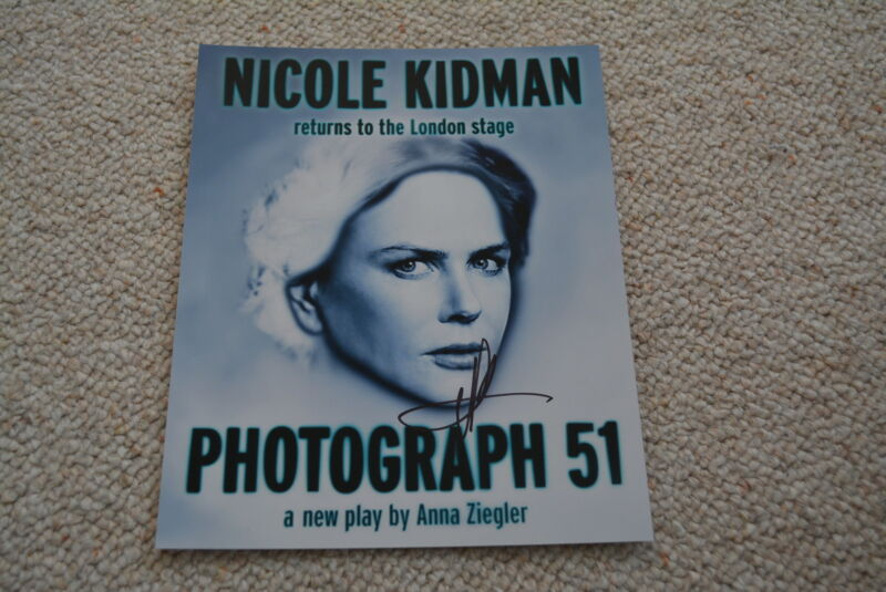 NICOLE KIDMAN sexy signed  Autogramm 20x25 cm In Person rar!!