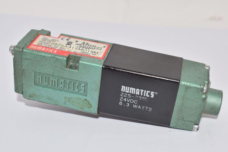 Numatics 082SA415M019M Directional Control Valve, 225-285B 24VDC 6.3 Watts