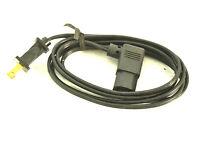belden  test equipment power cord  ham radio right angle NOS
