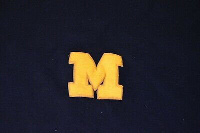 "1c27eae1 Vintage Antique University of Michigan Wolverines Stadium ~66x53"" Blanket"
