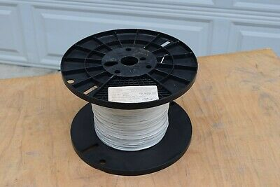 New- Thermax 2050 Teflon Silver Wire 22 Awg White Mil-w-16878f Guaranteed