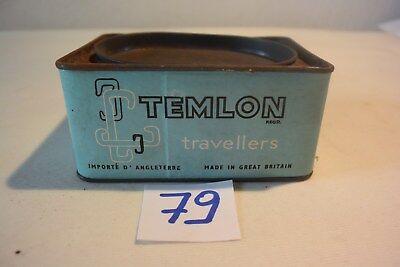 C79 Ancienne boite en métal publicitaire England Temlon 1