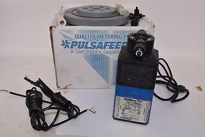 Pulsatron Metering Pump Lpb4sa-ptt1-xxx Dual Monitor Control