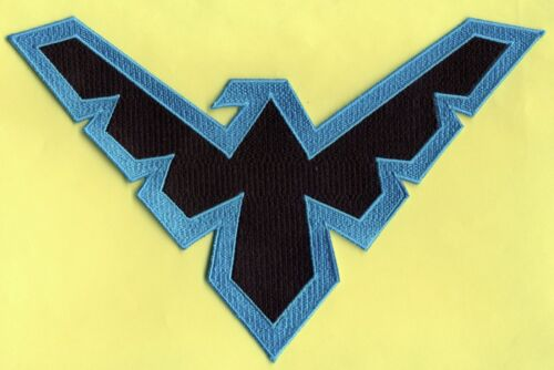 Batman / Nightwing Embroidered Logo Patch:  Choice of Styles / Sizes