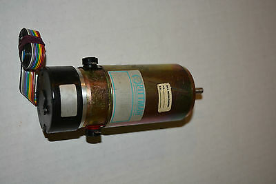 Pittman 14204c223 Dc Motor 30.3 Volts Dc With Optical Encoder Used