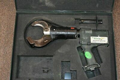 Greenlee Gator Esc85 Battery Hydraulic Cable Cutter Cordless Cutting Tool 85mm