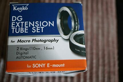 New tube set sony E Mount great price Merrylands Parramatta Area Preview