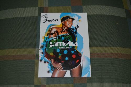 JAMELIA signed Autogramm 10x15 cm In Person SUPERSTAR