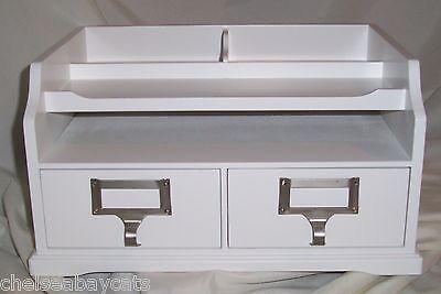 Home Decorators Collection Austin Desk Organizer - White Brand New In Box