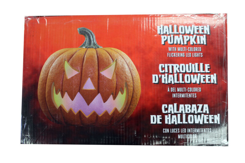 Multi-Color LED Lights Halloween Pumpkin For Indoor & Outdoor