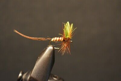 6 Size 18 HOUSE /& LOT AKA H /& L VARIENT PREMIUM LIGAS FLY FISHING FLIES