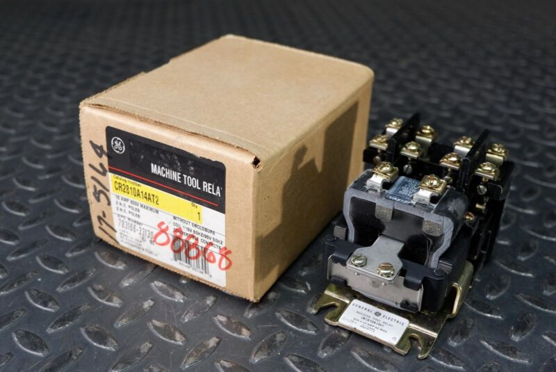General Electric CR2810A14AT2 Machine Tool Relay NEW In Box