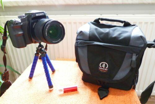 Sony Alpha A100 l 18x70mm Objekiv l XXL EXTRAS neu I DSLR Spiegelreflex Kamera