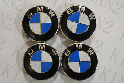 BMW center cap caps Set 4 wheel rim insert cover hub 2.75