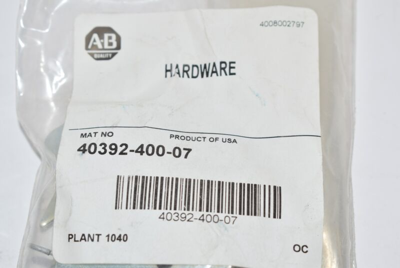 NEW ALLEN BRADLEY 40392-400-07 HARDWARE ACESSORY KIT