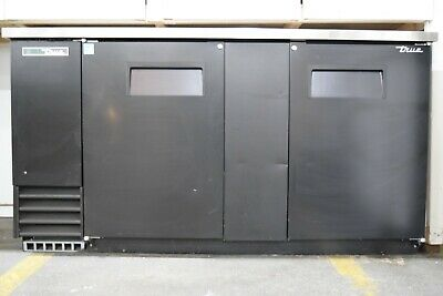 Underbar Refrigeration Solid Swing Door Back Bar Cooler - Used