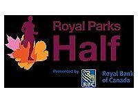 Royal Parks Half Marathon spot